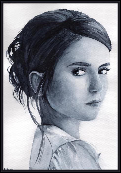 Nina Dobrev by Emdigin